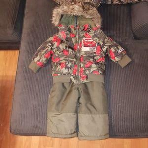 Lightning McQueen winter outfit 6months/12